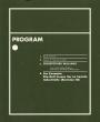 Omslag: Program. For Example: Dix-Huit Leçons Sur La Société Industrielle (Revision 10)