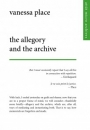 Omslag: The Allegory and the Archive